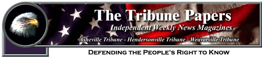The Tribune Papers covering WNC news in Asheville, Hendersonville, and Weaverville, NC